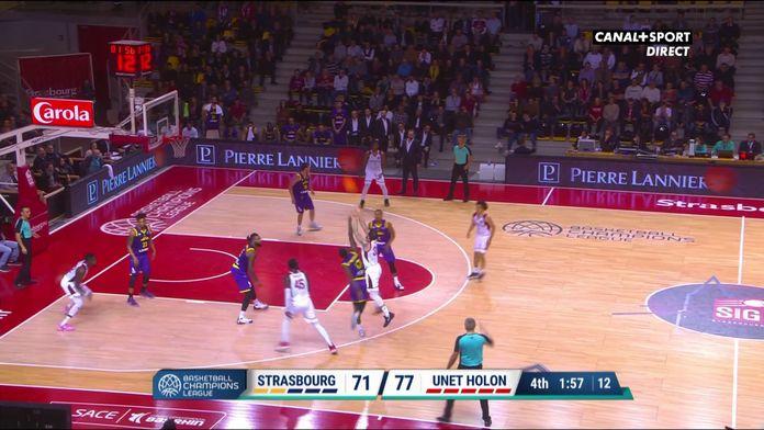 Le 3 points et la faute pour York (Strasbourg)