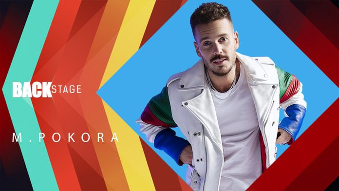 Backstage M Pokora
