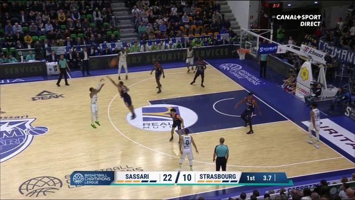 Un 1er quart-temps compliqué pour Strasbourg