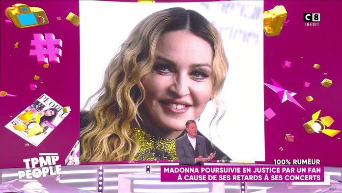Madonna poursuivie en justice par un fan à cause de ses retards à ses concerts