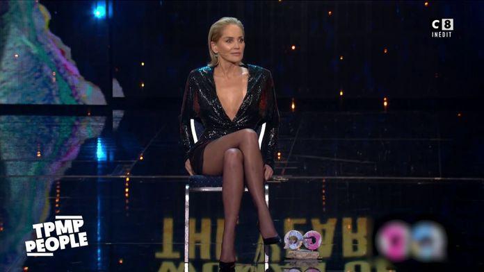 Sharon Stone rejoue la scène mythique de Basic Instinct pour la bonne cause