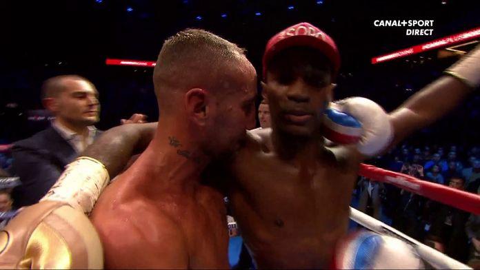 Michel Soro et Cédric Vitu, le respect entre les deux boxeurs