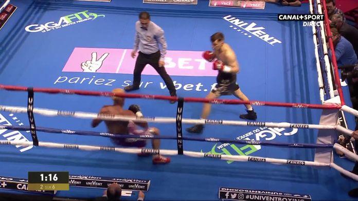 La victoire de Dylan Charrat face à Johan Perez