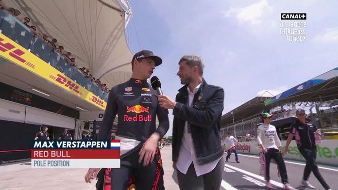 """Max Verstappen """"Il faut juste être certain d'être devant"""""""
