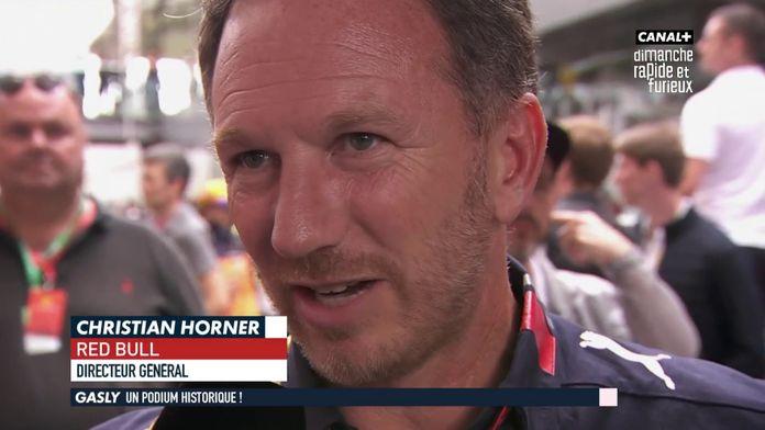 """Christian Horner : """"C'est une course incroyable, la stratégie a fonctionné"""""""