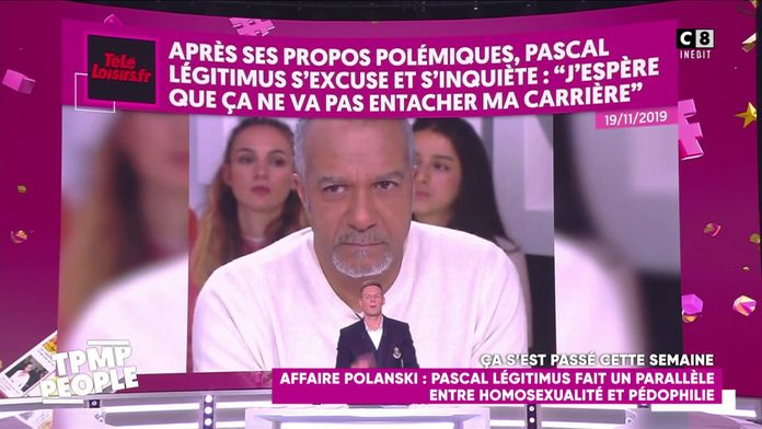 Le récapitulatif people de la semaine du 18 novembre : Le dérapage de Pascal Légitimus