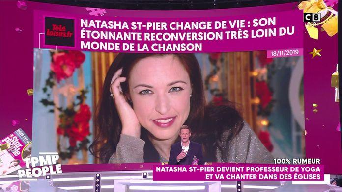 Natasha St-Pier fait une croix sur sa carrière de chanteuse et devient professeure de yoga