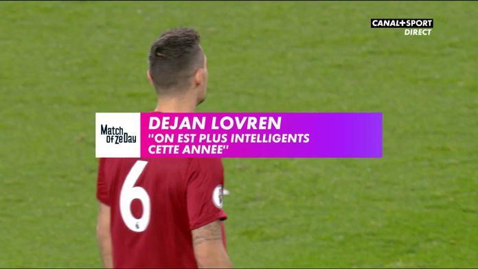 """Dejan Lovren : """"On est plus intelligents cette année"""""""