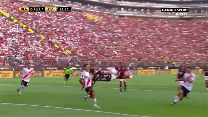 75' - Flamengo se lâche enfin