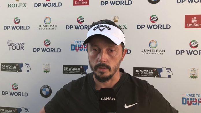 Réaction de Mike Lorenzo-Vera, 3ème du tournoi.