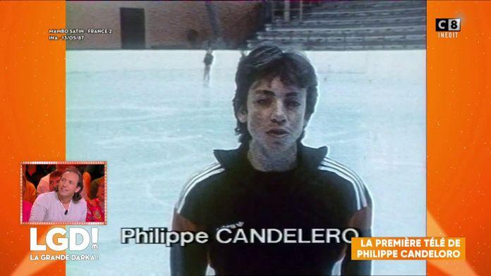 La première télé de Philippe Candeloro