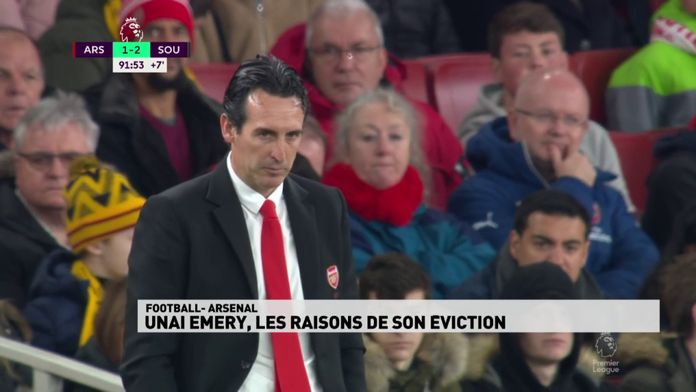 Unai Emery, les raisons de son éviction
