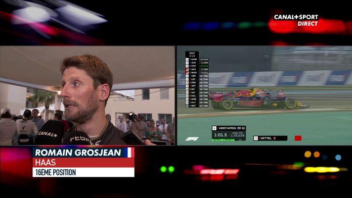 Grosjean après des Q1 ratées