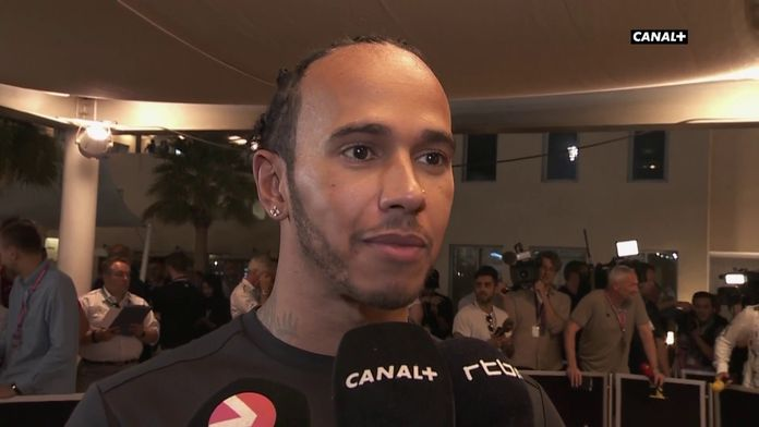 """Lewis Hamilton : """"C'est génial de terminer avec de telles qualifications.."""""""