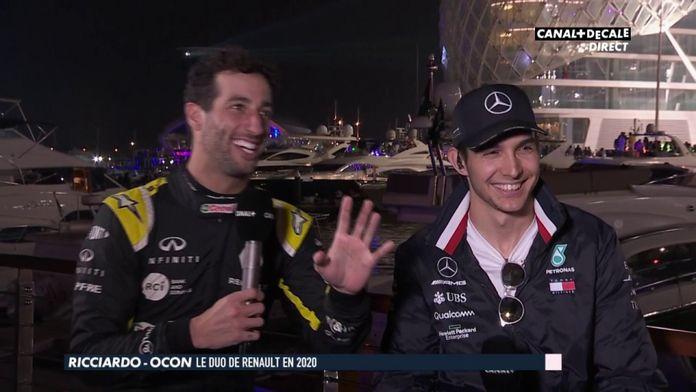 Ricciardo-Ocon le duo de Renault en 2020