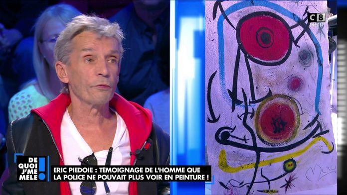 Eric Piedoie : Témoignage de l'homme que la police ne pouvait plus voir en peinture