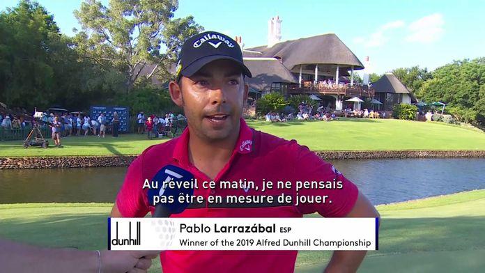 Larrazabal vainqueur de l'Alfred Dunhill Championship
