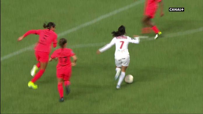 L'égalisation de Montpellier contre le PSG
