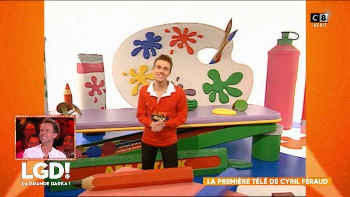 La première télé de Cyril Féraud