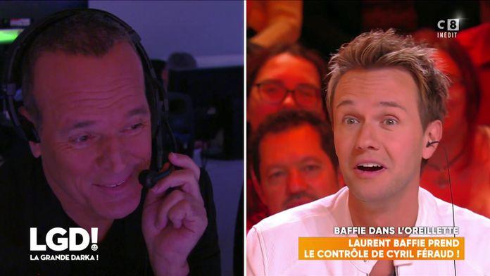 Laurent Baffie prend le contrôle de Cyril Féraud