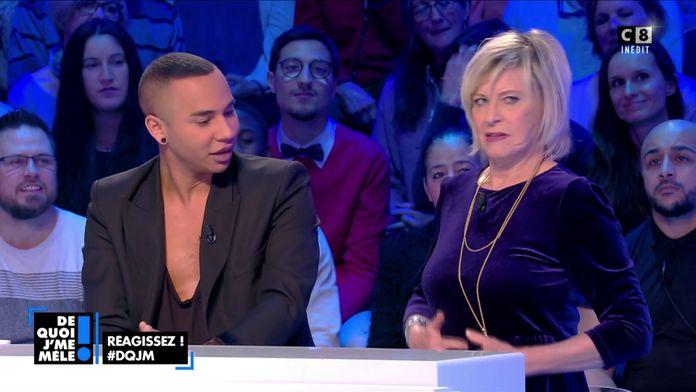 """Olivier Rousteing à Chantal Ladesou : """"En plus d'être marrante, Chantal est aussi très élégante"""""""