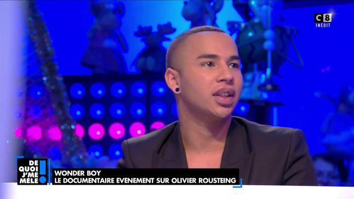 Olivier Rousteing revient sur la quête de ses parents biologiques