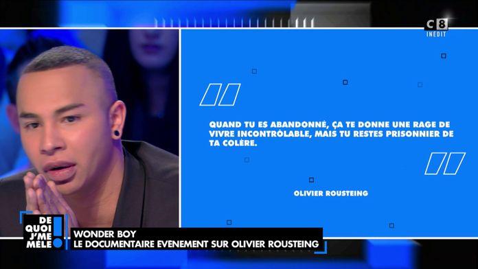 """Olivier Rousteing : """"Peut-être que ma mère biologique a été violée"""""""