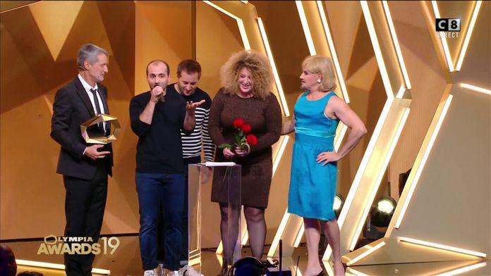 Les trois cafés gourmands obtiennent l'award de la révélation musicale de l'année