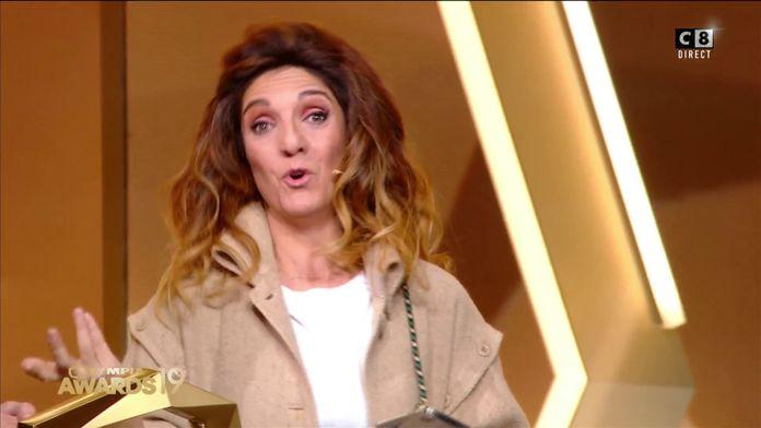 Florence Foresti reçoit l'award de l'humoriste de l'année 2019