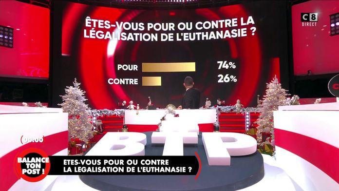 Pour ou contre la légalisation de l'euthanasie ?