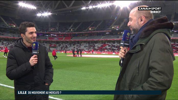 Gérard Lopez se confie avant Lille / Montpellier