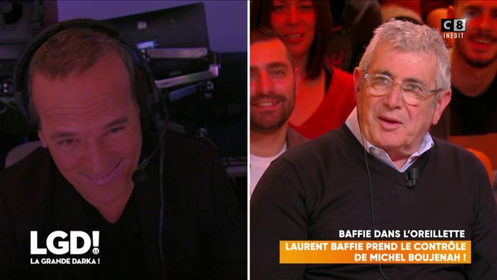 Laurent Baffie prend le contrôle de Michel Boujenah