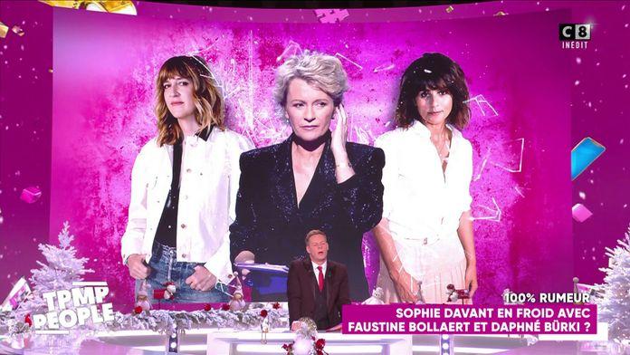 Sophie Davant en froid avec Faustine Bollaert et Daphné Burki ?