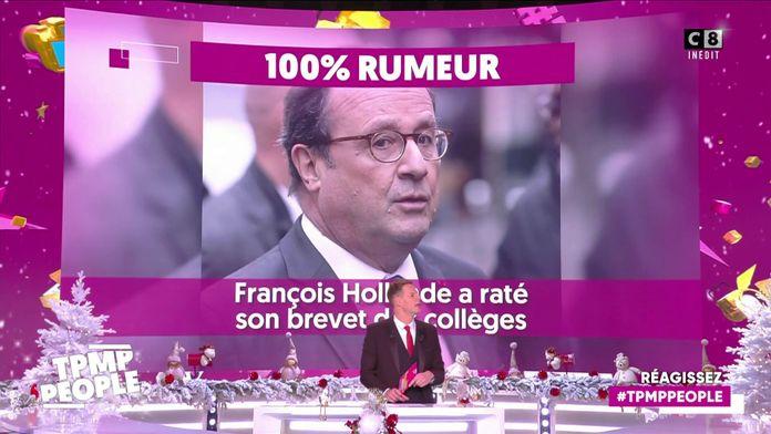 François Hollande a raté son brevet des collèges