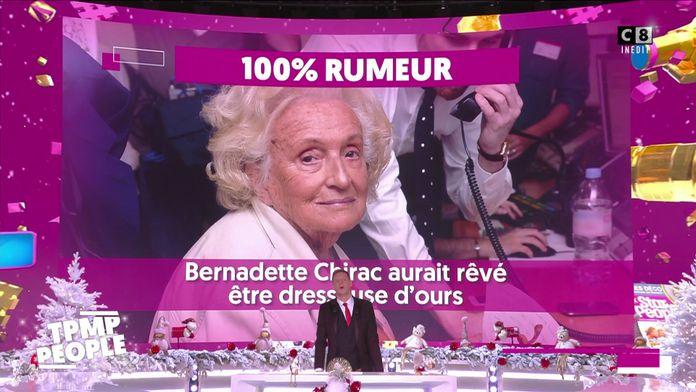 Bernadette Chirac voulait faire entrer un ours au conseil des Ministres