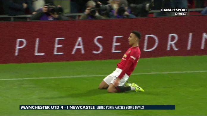 Le résumé de Manchester United / Newcastle