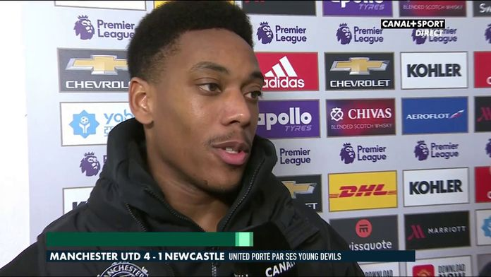 Anthony Martial revient sur Manchester / Newcastle