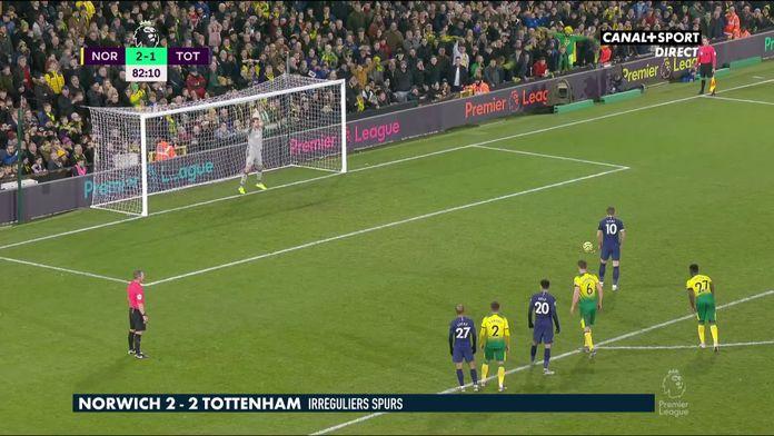 Le résumé de Norwich vs Tottenham