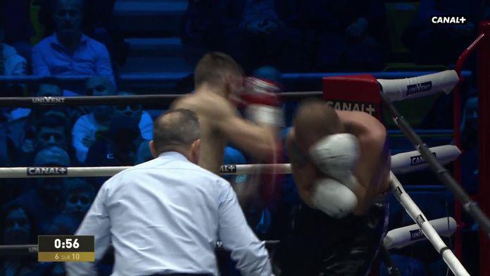 Dylan Charrat mène Mikhaylenko au bord de la rupture