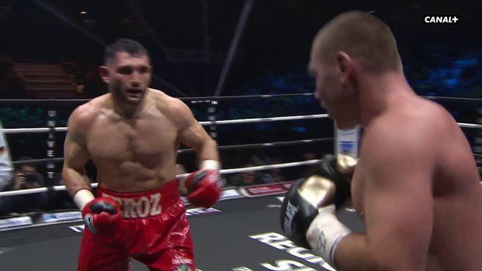 Arsen Goulamirian réplique en fin de 4e round