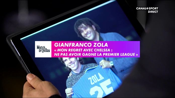 Gianfranco Zola : Son grand regret avec Chelsea