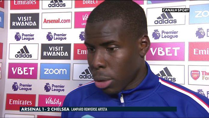 La réaction de Kurt Zouma après Arsenal / Chelsea