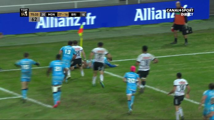 Thomas Darmon rapproche Montpellier de la victoire