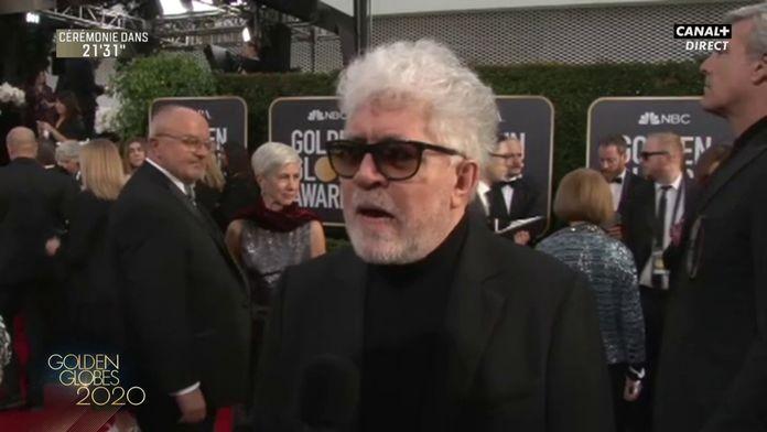 """Pedro Almodovar: """"Je me sens fier et heureux"""" - Golden Globes 2020"""