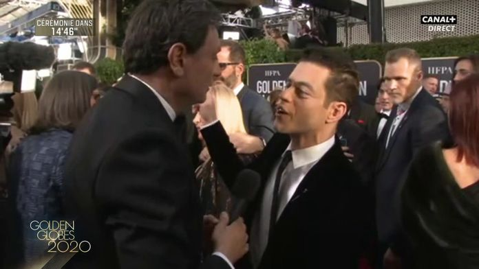 """Rami Malek : """"Mr. Robot a été un moment extraordinaire dans ma vie"""" - Golden Globes 2020"""