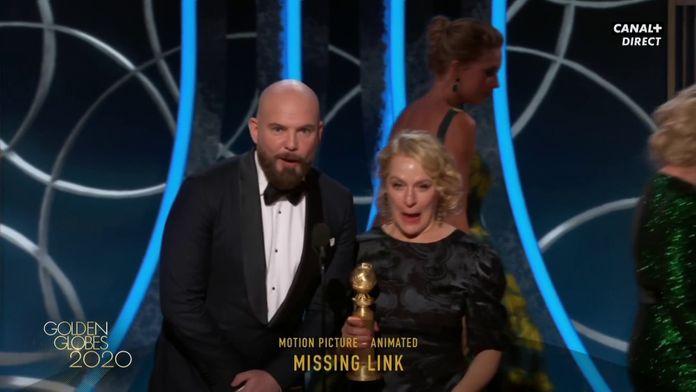 Monsieur Link gagne le prix du meilleur film d'animation - Golden Globes 2020