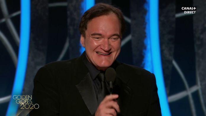Quentin Tarantino - Meilleur Scénario - Golden Globes 2020