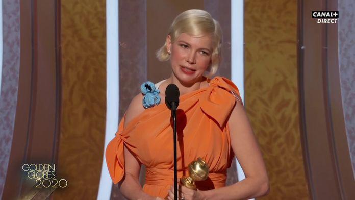 """Michelle Williams : """"Mesdames, il faut voter selon nos intérêts en 2020 !"""" - Golden Globes 2020"""