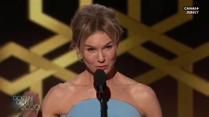 Renée Zellweger - Meilleure actrice dans un film dramatique - Golden Globes 2020