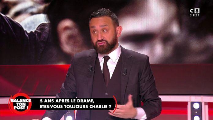 """Cyril Hanouna : """"Charlie Hebdo m'a contacté à l'époque pour que je les aide financièrement"""""""